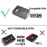 Motorized VHS-C to VHS Cassette Adapter for SVHS