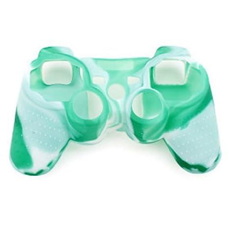 De camuflaje carcasa de silicona para PS3/PS5 Playstation ...
