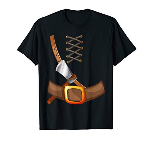 Viking Costume Halloween T-Shirt Trick Or Treating -