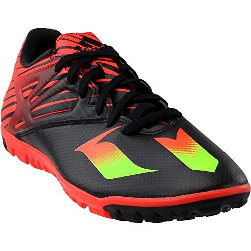 (adidas Performance Men's Messi 15.3 Soccer Shoe,Black/Shock Green/Solar Red,12.5 M US)
