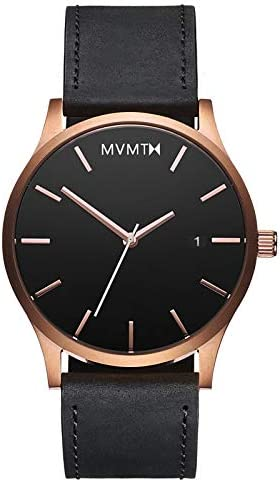 MVMT Minimalistic vintage men's watch with analogue date