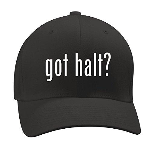 got halt? - A Nice Men's Adult Baseball Hat Cap, Black, Large/X-Large Cribbing Spray