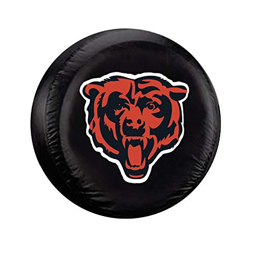 Fremont Die NFL Chicago Bears Tire Cover, Standard Size (27-29