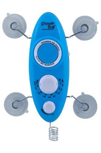 Beau Zadro Shower Bug 2.0 AM/FM Radio In Blue