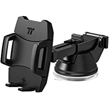 TaoTronics Car Phone Mount, Phone Holder for Car Dashboard with One-button Release, Fits iPhone 8 X, Galaxy, Nexus, and Other Popular Smartphones