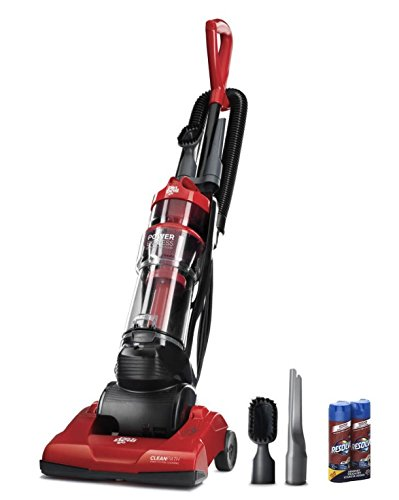 Vacuum Cleaner Lightweight Upright Dirt Devil Canister Bagless Multi Cleaning Carpet Hard Floor Small Spaces Bed Easily Power Kit Dusting Simplicity Extraction Deep Red