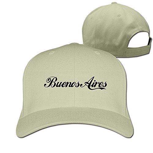 Argentine Capital Buenos Aires Flag Adjustable Fitted Cap