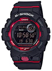 The GBD800 watches from G-Shock are made for those counting steps. It features a step counter that uses a 3-axis acceleration sensor, a step goal progress display (step count goal setting range: 1,000 to 50,000 in 1,000-step increments), and ...