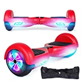 6.5-Inch Two-Wheeled Intelligent Electric Skateboard Balance Car Mini Smart Self Balancing Electric Unicycle Scooter Red