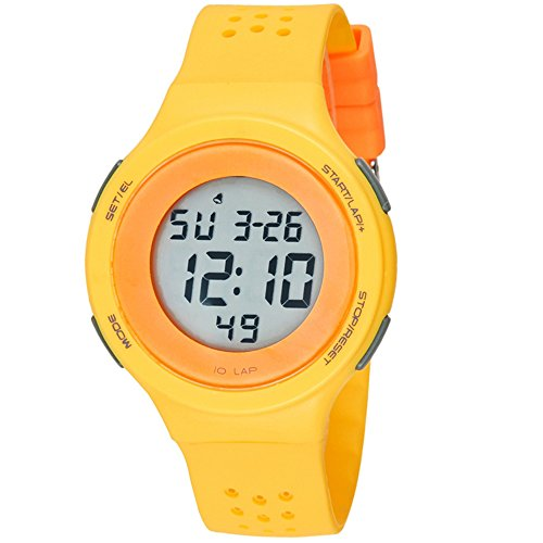 ttlife-super-thin-design-multi-functions-swimming-waterproof-digital-sport-wrist-watch-yellow