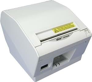 Star Micronics TSP800 TSP847 - Impresora de etiquetas (Térmica directa, Color blanco, 10 - 90%, 10 - 90%, Serial (RS-232), Alámbrico)