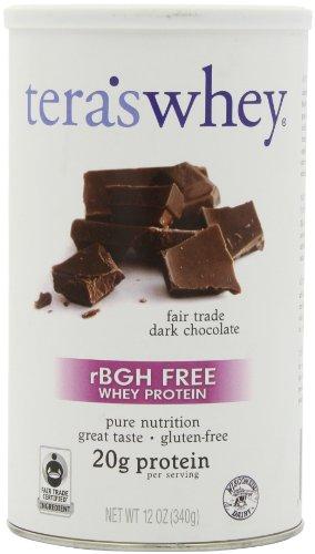 Whey rBGH Foire de libre-échange Dark Chocolate Whey Protein Tera