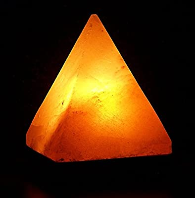 Universal Lighting and Decor 1 Count Salt Lamp Pyramid