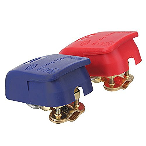 Heavy duty quick release car battery clamps / terminals A901 ()