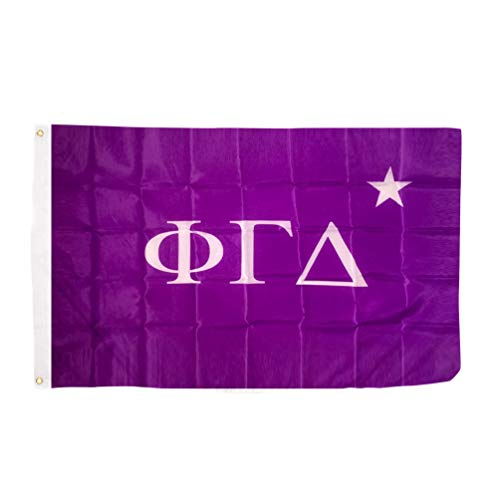 Fraternity Flag - Phi Gamma Delta Fiji Chapter Fraternity Flag 3 x 5 Polyester Use as a Banner Sign Decor Fiji