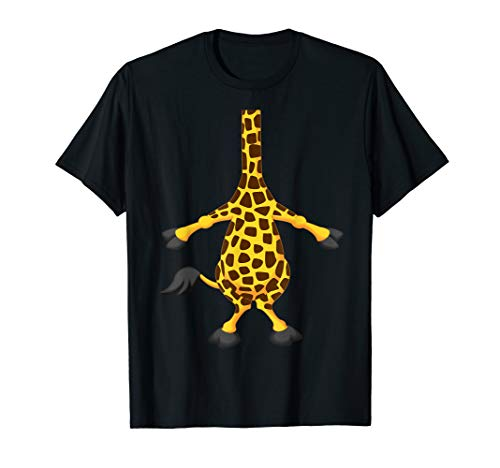 Giraffe Halloween Costume Shirt Easy Funny Women Men