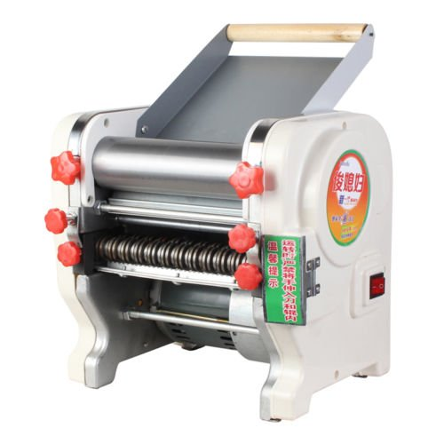 Pasta Maker,Jian Ya Na 220V 750W Home Commercial Stainless Steel Electric Pasta Press Maker Noodle Making Machine Veggie Pasta Maker