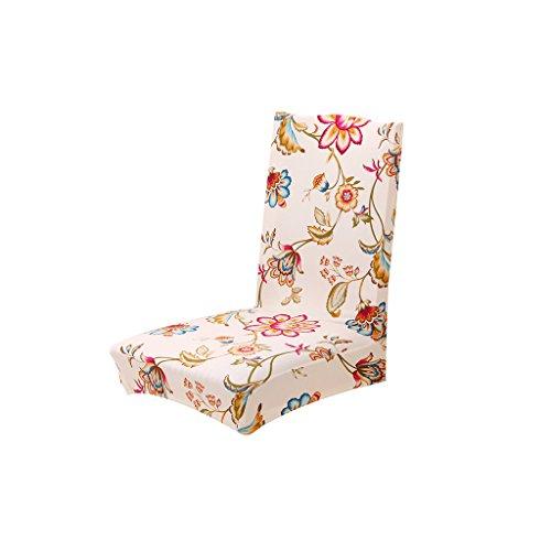Stretch Stuhl Husse Esszimmerstuhl Abdeckung Haus Dekor Blumen Muster - 01