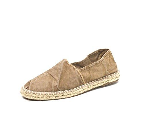NATURAL WORLD-zapatillas deportivas para hombre Camping Yute Marrón - 325e-beige-621