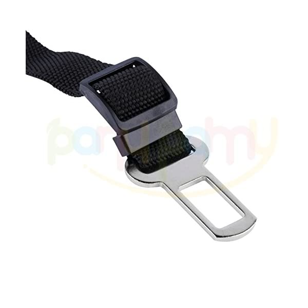 Pet Dog Seat Belt, Dog Seat Belt Lead Restraint Harness, Adjustable Length Durable Nylon Made Safety Leads – Fits Any… Click on image for further info. 3