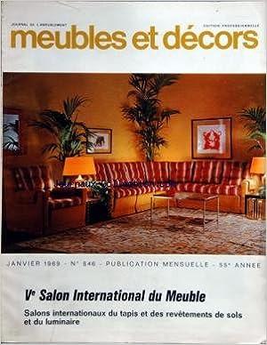Amazon.fr - MEUBLES ET DECORS [No 846] du 01/01/1969 - 5eme salon ...