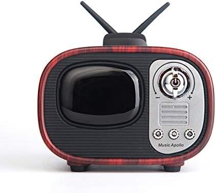 BSDK Retro Imitación TV Altavoz, Bluetooth Altavoz Tarjeta, Radio, función de Llamada: Amazon.es: Hogar
