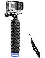 E-More Waterdichte GoPro Drijvende Hand Statief Mount & Drijvende Handvat Grip met Duim Schroef en Verstelbare Polsband voor GoPro Hero 2/3/3 +/4 Sport Action Camera Mount Accessoires (blauw)