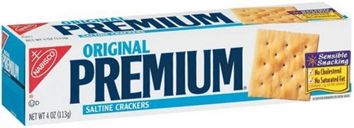 Premium Saltine Crackers, 4-Ounce Boxes (Pack of 12)