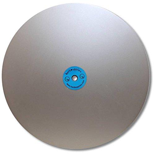 KENT 12'' Diam Grit 3000 Quality Electroplated Diamond Coated Flat Lap Disk wheel
