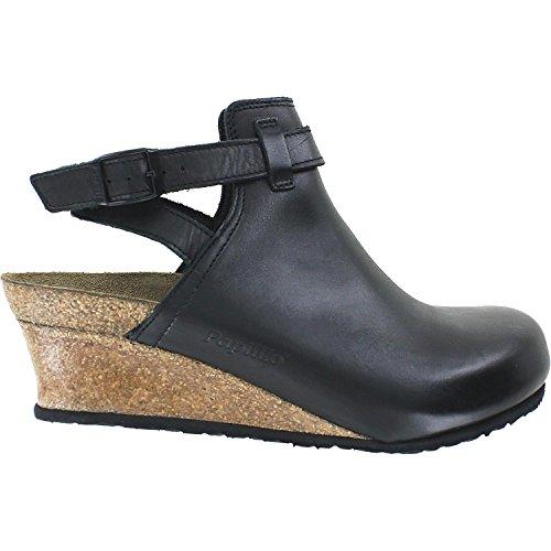 Birkenstock esra Black Leather Sandal 36 (US Women's 5-5.5) by Birkenstock