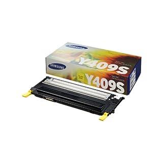 Samsung CLT-Y409S Toner 1K Yield for CLP-315, CLP-315W, CLX-3175FN, CLX-3175FW - Yellow