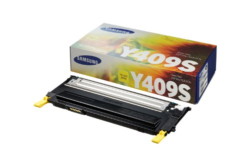 Original Samsung© CLT-Y409S Yellow Toner Cartridge - 1,000