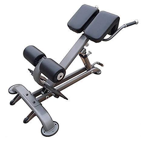 Element Fitness Hyper Extension Bench Black/Grey