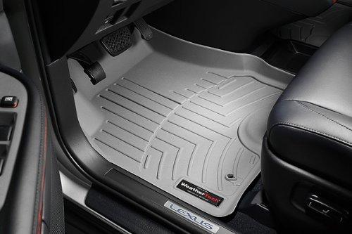 WeatherTech - 463461 - 2011 - 2012 Chevrolet Equinox Grey 1st Row FloorLiner ()