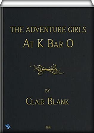 book cover of The Adventure Girls At K-Bar-O