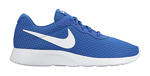Nike - Tanjun, Scarpe Da Corsa Uomo, Multicolore (Multicolore - Azul/Blanco (Game Royal/White)), 42,5 Game Royal/White