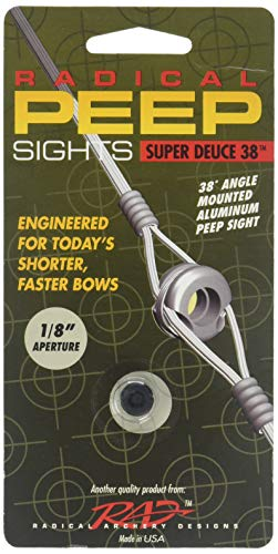 - Radical Super Deuce 38 Peep Sight 3/16