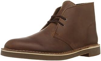 Clarks Men's Bushacre 2 Desert Boot, Dark Brown, 9.5 M US