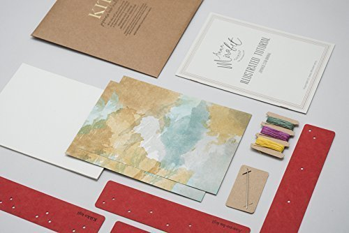 Diy japanese bookbinding kit amazon handmade diy japanese bookbinding kit solutioingenieria Image collections