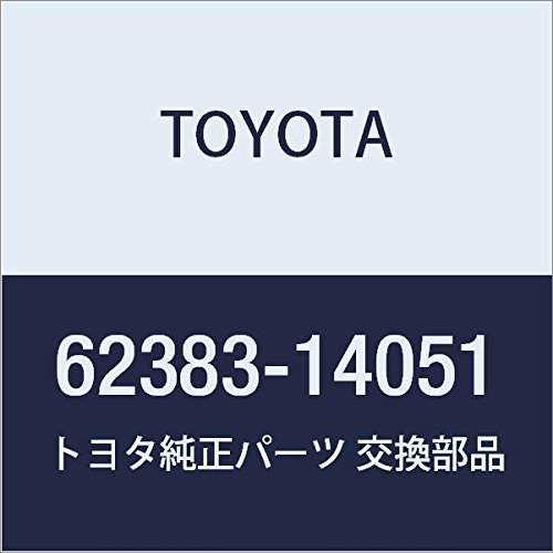 TOYOTA Genuine 62383-14051 Roof Side Rail Weatherstrip
