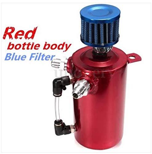 GOTOTOP Tanque de Captura de Aceite, 0.5L Extractor de Aceite de respiración de Aceite de Carreras Universal Puede depósito...