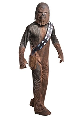 Rubie's Star Wars Adult Deluxe Chewbacca Costume, Large - Star Wars Deluxe Han Solo Adult Costumes