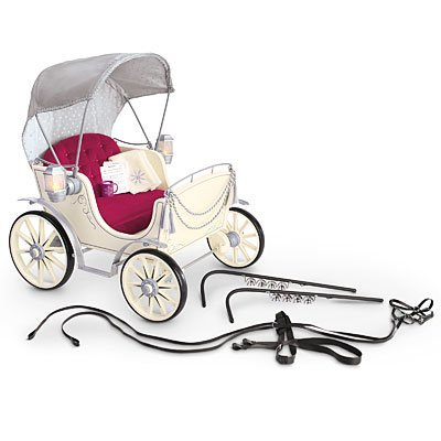 American Girl Pretty City Carriage for 18 Inch Dolls for Horse Toy Buggy NEW! by American Girl