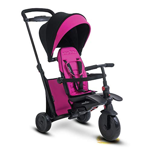 (smarTrike Smartfold 500 Folding Baby Tricycle, Pink)