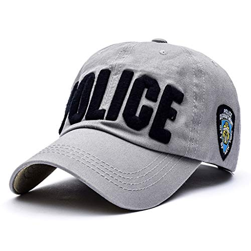 YangMi hat- Baseball Cap Spring and Autumn Caps Face Small Unisex Multicolor Optional (Color : Light Gray, Size : One Size)