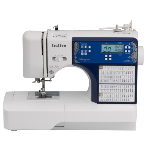 Brother Designio Series DZ3000 Computerized Sewing & Quilting Machine, White (Husqvarna Sewing Machine)