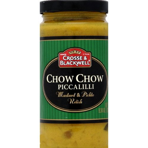 - Crosse & Blackwell Chow Chow Piccalilli Mustard & Pickle Relish, 265g (Pack of 3)