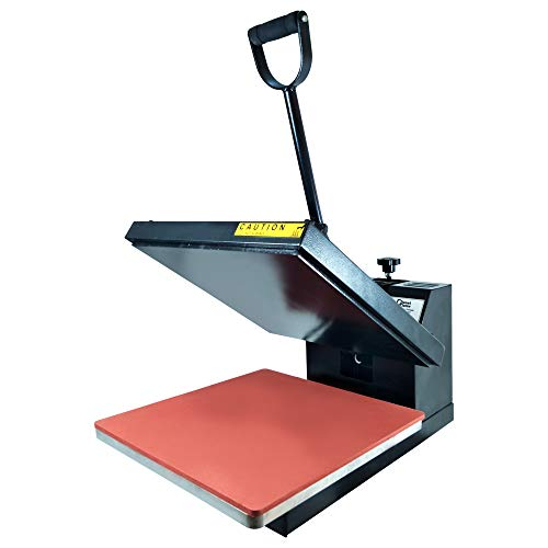 (PlanetFlame Industrial-Quality CE Panel Clamshell Heat Press Machine, Professional T-Shirt Sublimation Plain Heat Transfer Presses Printing Machine 15