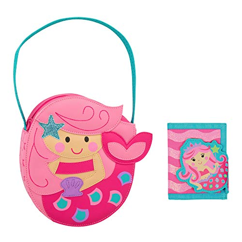 Stephen Joseph Kids Mermaid Purse and Wallet for Girls