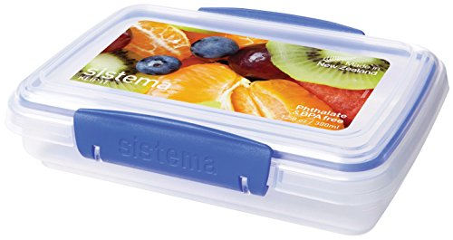 Sistema 1550 Klip It Collection Rectangle Food Storage Container, 12.8 Ounce